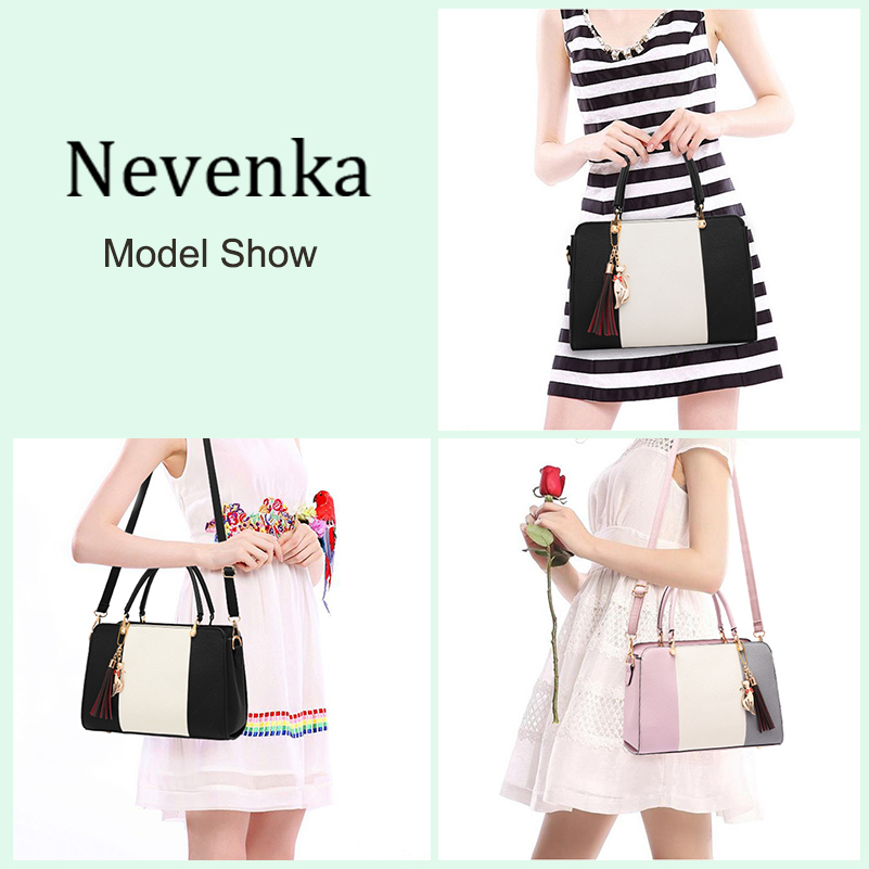 Nevenka Luxury Handbags Women Bags Designer Shoulder Bags High Quality PU Leather Crossbody Bag Ladies Casual Tote Travel Bag03