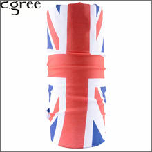 C.gree Summer Novelty Hip Hop Hijab Flag Headband Magic Seamless Bandana Motorcycle Face Mask Neck Tube Scarf Bandanas 190