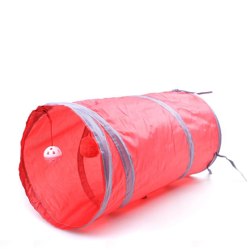 50*25cm Nylon Collapsible Cat Play Tunnel With Scratching Ball 50*25cm nylon collapsible cat play tunnel with scratching ball 50*25cm Nylon Collapsible Cat Play Tunnel With Scratching Ball HTB1N2swRVXXXXbwXVXXq6xXFXXX4