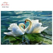 crystal rhinestone picture diamond mosaic swan love gift craft Home beauty 3D DIY full diamond painting embroidery kits