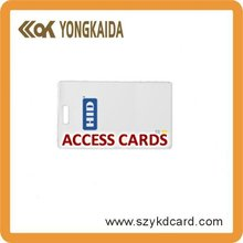 Yongkaida High quality atmel t5577 rfid card blank cards with factory price and free samples(China)