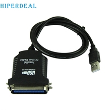HIPERDEAL E5 USB LPT New USB To DB36 Female Port Parallel Printer Print Converter Cable LPT