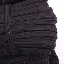 36m-60m/lots 3mm-12mm black Elastic Cord Stretch Thread String Rope thickness 1mm  CH-1026
