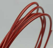 TEFLON KEVLAR HYDRAULIC DISC BRAKE BRAIDED YARN HOSE SUIT FOR SHIMANO  X TR SAINT HONE XT LX DEORE 3 METERS BRAIDED RED