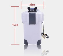 sunsun hw-302 18w canister external filter, 300-500 liters tank aquarium filter(China)