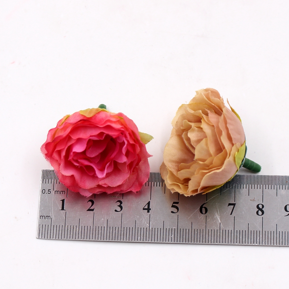 Wholesale Blooming Peony Cloth Artificial Flowers For Wedding Party