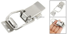 "Stainless Steel Toggle Latch Catch 3.1"" for Drawer Closet Toolbox 2sets(China)"