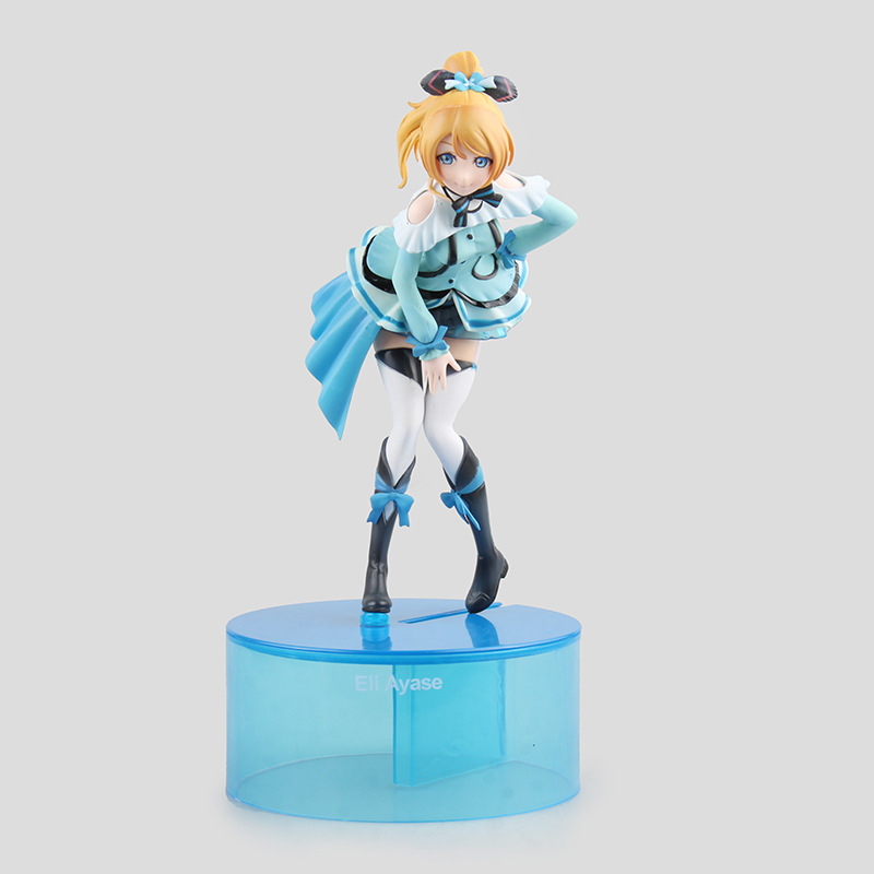 Hot-selling  1pcs 19cm pvc Japanese anime figure love live! Eli Ayase action figure  collectible model toys brinquedos<br>