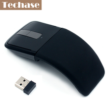 Computer Peripherals Accessories 2.4GHz Arc Touch Ergonomic Mouse Computer Mouse Sem Fio Foldable Optical Flat Microsoft Quality