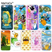 MaiYaCa Adventure Time Special Offer Luxury Vertical phone case for Apple iPhone 8 7 6 6S Plus X 5 5S SE 5C 4 4S Cover(China)