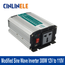Modified Sine Wave Inverter 300W CLM300A-121 DC 12V to AC 110V 300W Surge Power 600W Power Inverter 12V 110V