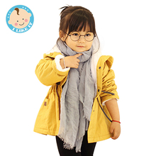 Winter Coat Jacket Casual Hooded Warm Coat Trench Velvet Girls Winter Hooded Jacket Cotton Childrens Down Jackets for Girl