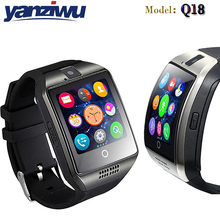 NEW Bluetooth Smart Watch Q18 Smartwatch Support NFC SIM Card GSM Video camera Support Android/IOS Smart Phone PK GT08 GT88 U80(China)