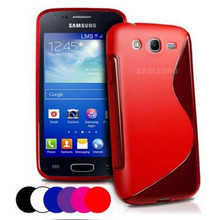 New Soft Silicone TPU Gel S line Skin Back Cover Case For Samsung Galaxy Ace 3 S7270 S7272 S7275 Case