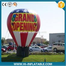 4m Giant Inflatable ground Balloon Inflatable advertising cold air big balloon