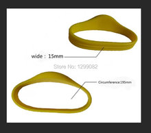 Free Shipping(100pieces/lot) LF(low frequency)125KHz RFID Silicone Wristband for T5577 waterproof RFID Tag Proximity Watch Type