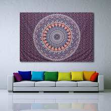 Indian Tapestry Wall Hanging Bohemian Throw Blanket Bedspread Home Room Art Wall Textiles Dorm Throw Mat Cover 215X140cm