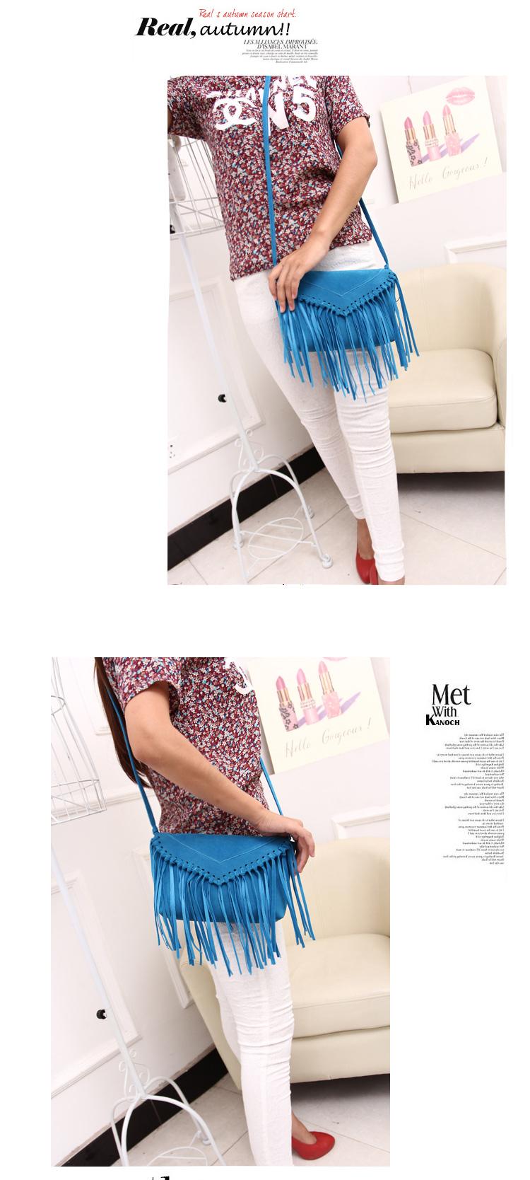 women bag fringe tassel bags (5)