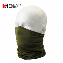 Elastic Lycra Outdoor Cycling Half Face Mask Bike Bicycle Balaclava Breathable Army Green Ski Motorcycle Neck Hood Cover