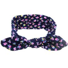 Boys And Girls Headwear Kid New Arrive Casual Apparel Accessories Cute Rabbit Ears Elastic Flowers Bowknot Headband For Kids