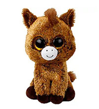 TY Beanie Boo Harriet - Horse Reg unicorn Plush Stuffed Animal Collectible Doll Toy