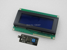 IIC/I2C 2004 blue screen LCD module provides libraries For Arduino