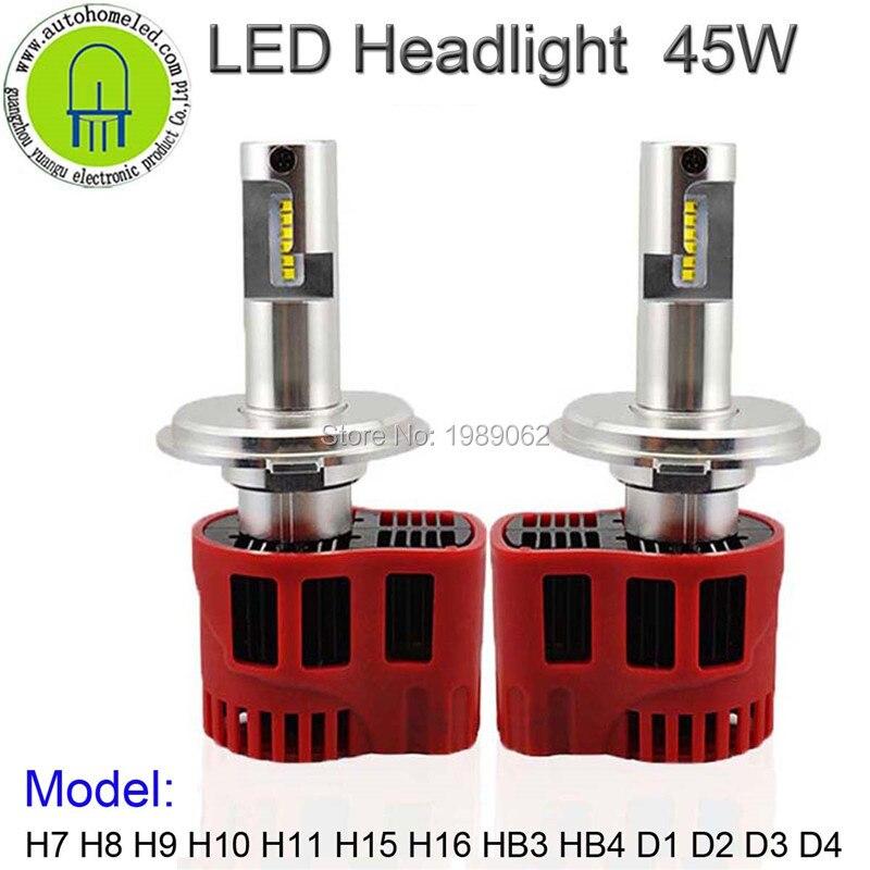 2PC X 45W P6 Steable Headlamp H4 /H13/ 9004/ 9007 /H15/H16/9005/9006/9012/H7/H11/D1/D2/D3/D4 with 3years Warranty<br><br>Aliexpress