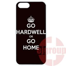 Top Selling Electro House Dj Go Hardwell For Apple iPhone 4 4S 5 5C SE 6 6S 7 7S Plus 4.7 5.5 iPod Touch 4 5 6