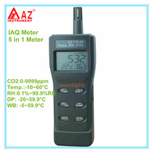 Handheld CO2 Meter IAQ Detector CO2 Temp. RH DP WB 5 in 1