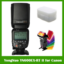 Buy YONGNUO YN600EX-RT II 2.4G Wireless HSS 1/8000s Master TTL Flash Speedlite Canon Camera 600EX-RT YN600EX RT II for $111.63 in AliExpress store