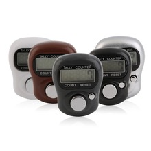 1Pc Mini Digit LCD Electronic Digital Golf Finger Hand Held Tally Row Counter