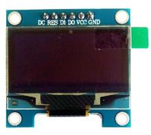 1.3 inch 6PIN SPI Blue OLED Display Screen Module (B Ver.) SSH1106 Drive IC128*64 IIC Interface(China)