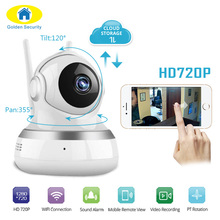 Golden Security 720P Cloud Storage WiFI IP Camera Motion detection Security Cameras Mobile Phone Remote Baby Monitor Camera(China)