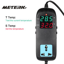 LED Digital incubator Temperature Controller Electronic Thermostat Thermocouple with Socket Aquarium Thermometer termostato