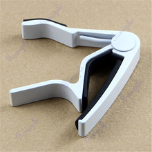 Popular Guitar Trigger Capo Acoustic Electric Single-Handed Tune Quick Change(China)