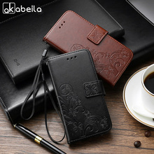 AKABEILA Case For Apple iPod Touch 5 5th 5G touch5 iPod Touch 6 6th touch6 Silicon Phone Cover Leather Lucky Clover Skin(China)