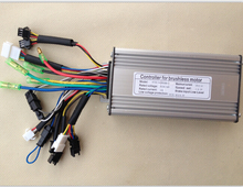36V/48V 500W Brushless DC Square Wave Controller ebike Electric Bicycle Hub Motor Controller with right output