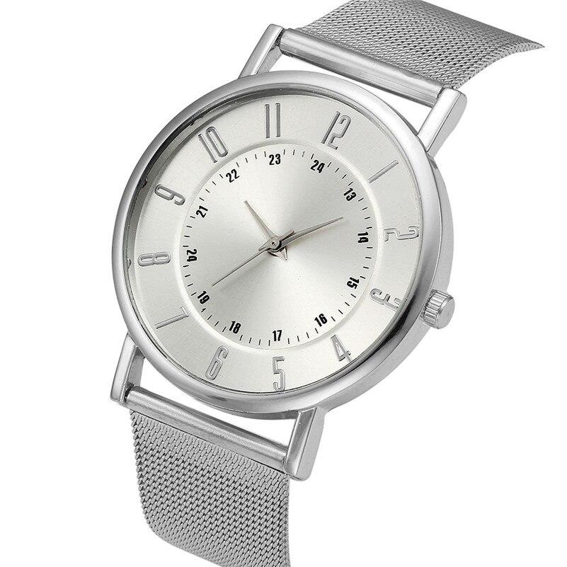 Women's watches brand luxury fashion ladies watch Classic Geneva Quartz Stainless Steel Wrist Watch Relogio feminino M03 (4)