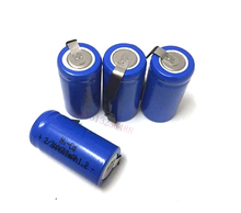 4pcs/lot AA Ni-Cd 1.2V 2/3AA 600mAH rechargeable battery NiCd charging Batteries - Blue Free Shipping
