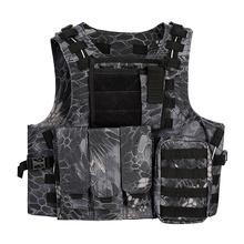 Military Combat Hunting Molle Tactical Vest Airsoft Magazine Rig Chest Harness