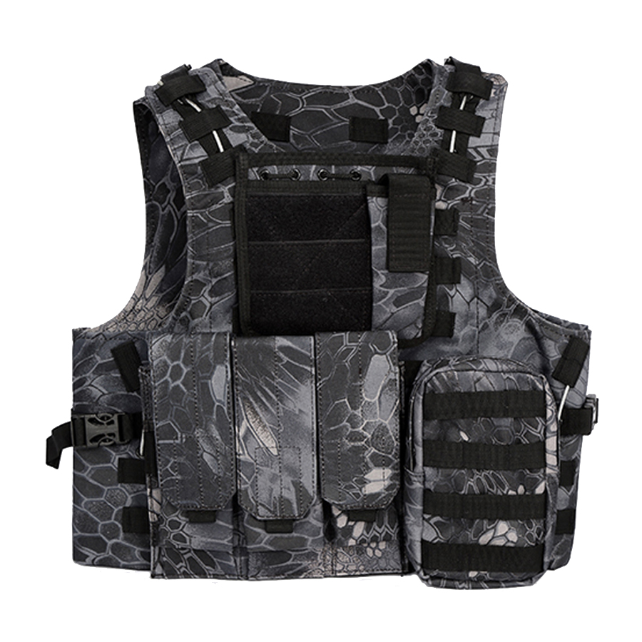 Military Combat Hunting Molle Tactical Vest Airsoft Magazine Rig Chest Harness<br>