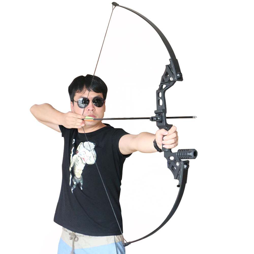 HTB1N3t0SpXXXXcvXFXXq6xXFXXXF - 40lbs Archery Bow Hunting Straight Longbow for Outdoor Practice Target Shooting Fishing Sport Games Slingshot Tade Down Long Bow