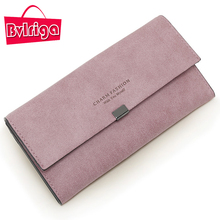 Buy Bvlriga long leather wallet women wallets purses Female small business credit card holder coin purse walet clutch money bag for $9.41 in AliExpress store