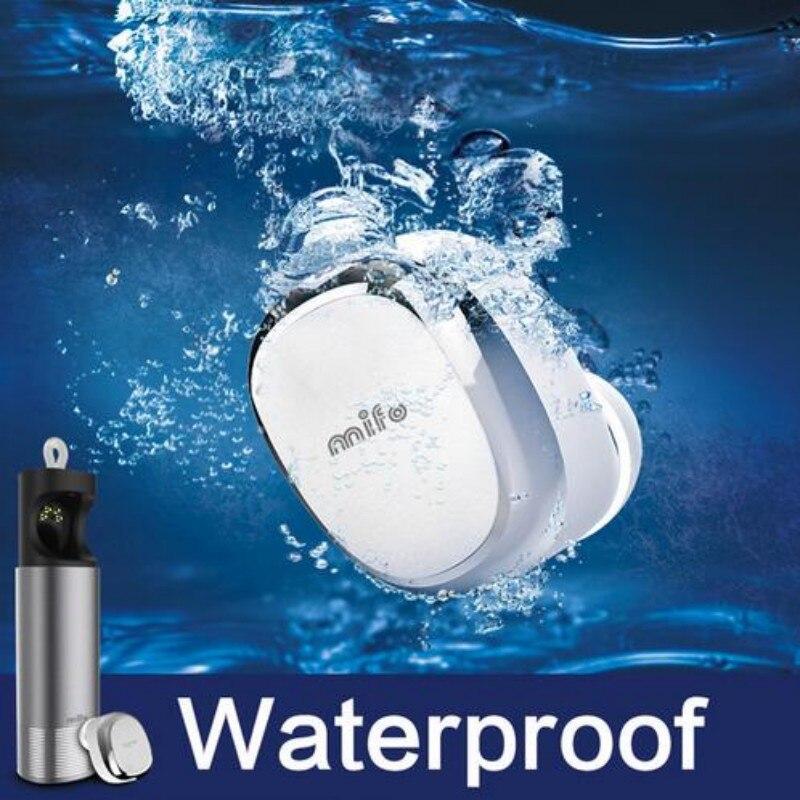 Mifo U0 Mini Bluetooth Earphone IPX7 Waterproof Wireless Music Headset Car Handsfree Stealth Earbuds Fone de ouvido With Mic <br>