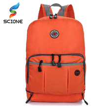 Portable Rucksack Bags Folding Backpack Large Capacity Light Weight Travel Bag Packs for Mountaineering Hiking Camping Bag F41