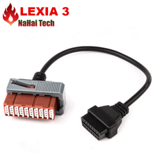 Best Lexia3 PP2000 PSA XS Evolution 30Pin Cable OBD2 EOBD Lexia3 PSA 30 Pin OBDII Diagnostic Cables For Old Peu-geot/Ci-troen