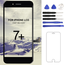 Buy Grade AAA Tianma Screen LCD iphone 7 plus lcd display digitizer Assembly 3D touch screen Replacement Touch screen lcd for $32.49 in AliExpress store