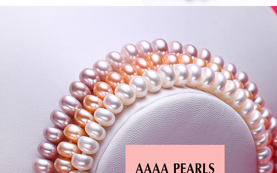 HTB1N44Hazgy uJjSZKPq6yGlFXaK - White Natural Freshwater Pearl Necklace For Women 8-9mm Necklace Beads Jewelry 40cm/45cm/50cm Length Necklace Fashion Jewelry