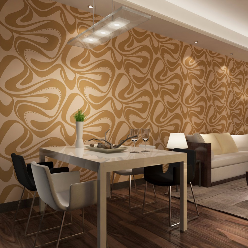 2017 Modern  Foaming Non-woven Wallpaper for Living room Best Home Decor 0.53*10M Wall Coverings papel de parede QZ0445 <br>