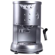 Silver Semi-automatic espresso coffee machine15 Bar cappuccino portable coffee machine electric coffee maker home appliance